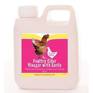 Battles Poultry Cider Vinegar With Garlic 1L