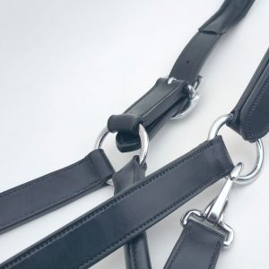 Sam Jamieson Double Release Leather Headcollar