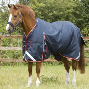 Premier Equine Buster 100 Turn Out Rug Navy