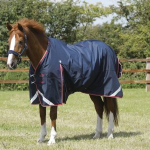 Premier Equine Buster 50 Turn Out Rug Navy