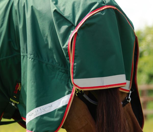 Premier Equine Buster Zero Turn Out Rug Green