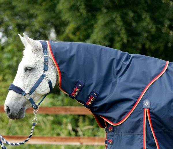 Premier Equine Buster Zero Turn Out Rug Navy