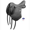 Bates Artiste Dressage Saddle Luxe Leather