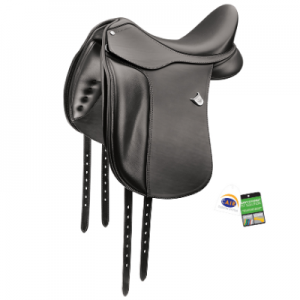 Bates Dressage Saddle Heritage Leather