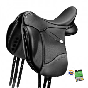 Bates Isabell Dressage Saddle Luxe Leather