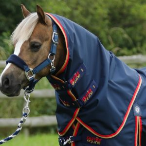 Premier Equine Buster Zero Turnout Rug with Classic Neck Cover Navy