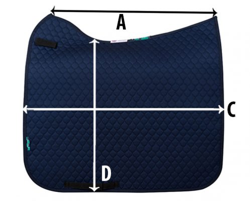 Griffin Nuumed Hiwither Anti Slip Dressage Pad