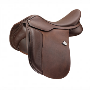 Bates Wide All Purpose Saddle Heritage Leather